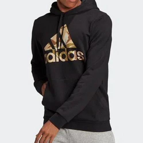 Blusão Adidas Essentials Camouflage Preto Masculino