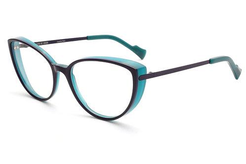 Óculos de Grau Caroline Abram Azul