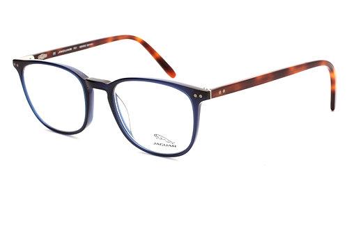 Óculos de Grau Masculino Jaguar Azul Com Tartaruga