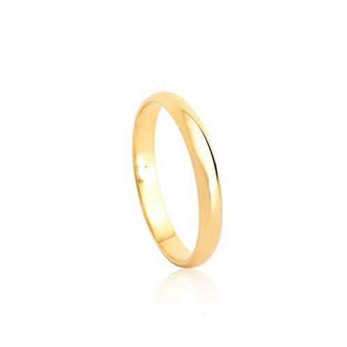 Aliança de Casamento em Ouro 18k 2,8mm