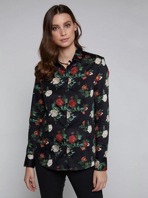 Camisa Dark Floral