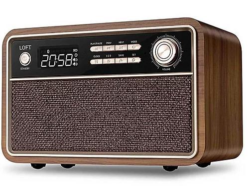 Rádio Relógio Retrô D29
