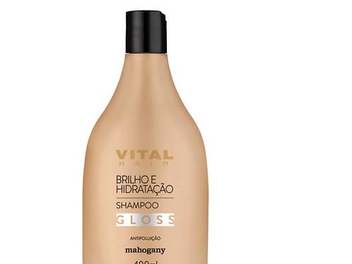 Shampoo Gloss Brilho e Hidratação 400ml