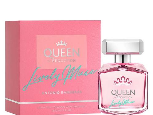 Queen Of Seduction Lively Muse Antonio Banderas EDT 50ml a partir de