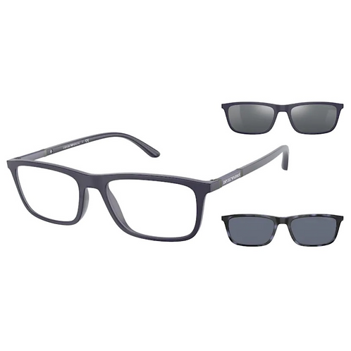 Óculos Clip On Emporio Armani Preto