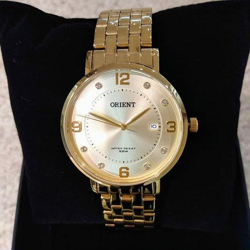 Relógio Orient Feminino Folhado