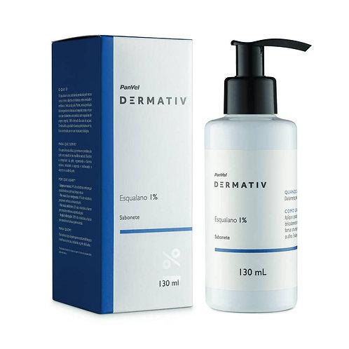 Sabonete Facial Esqualano 1% Panvel Dermativ 130ml