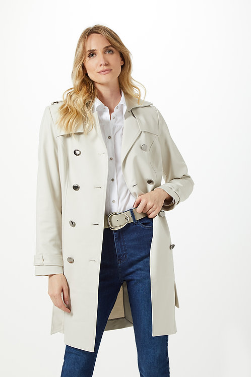 Trench Coat Double Off White