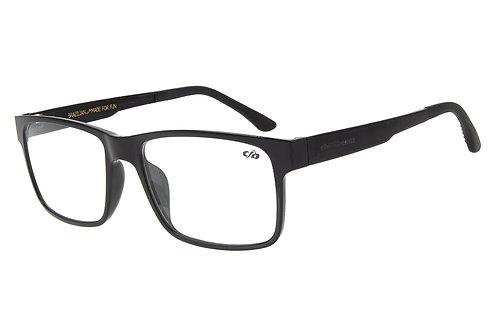 Armação Para Óculos de Grau Masculino Chilli Beans Essential Multi Preto Brilho