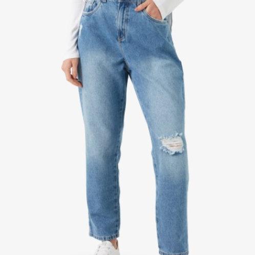 Calça Jeans Feminina Relaxed