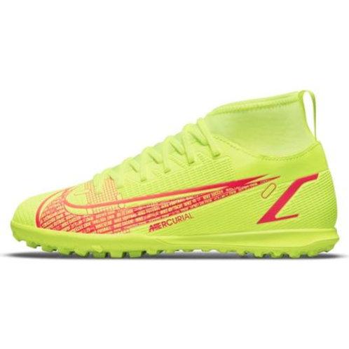 Chuteira Society Nike Jr. Mercurial Superfly 8 Club TF Infantil