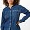 Thumbnail: Camisa Dirty Upcycled Denim Azul Médio