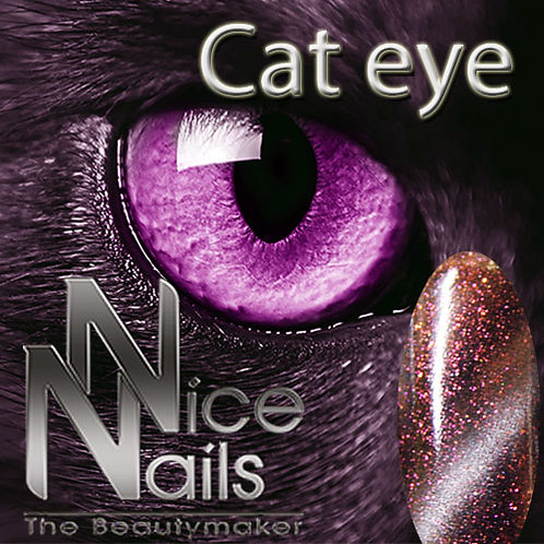 Cat Eye Gel Glitter Rose