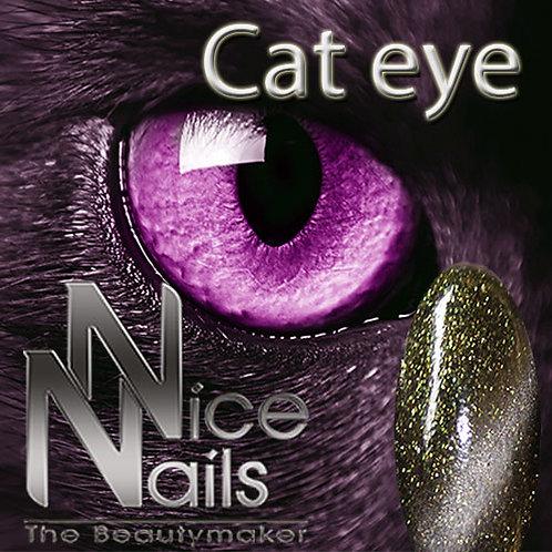 Cat Eye Gel Glitter Green