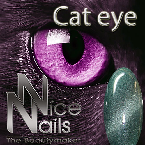 Cat Eye Gel Satin Green