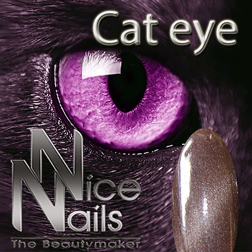 Cat Eye Gel Satin Brown