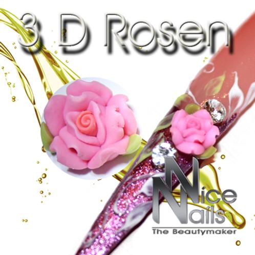 3D Rose Pink