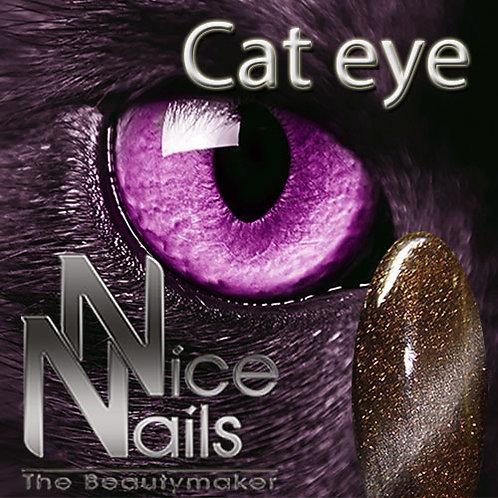 Cat Eye Gel Glitter Brown