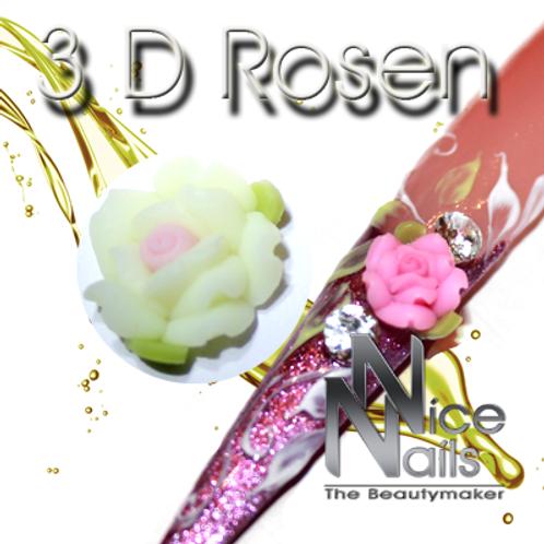 3D Rose Weis