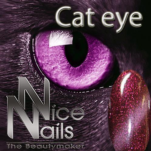 Cat Eye Gel Glitter Berry