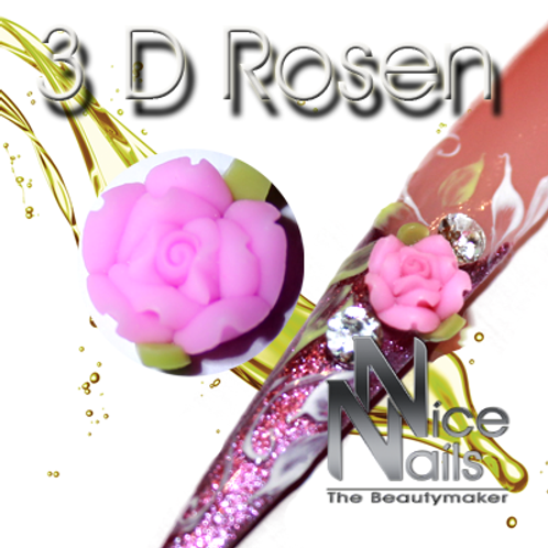 3D Rose Rosa