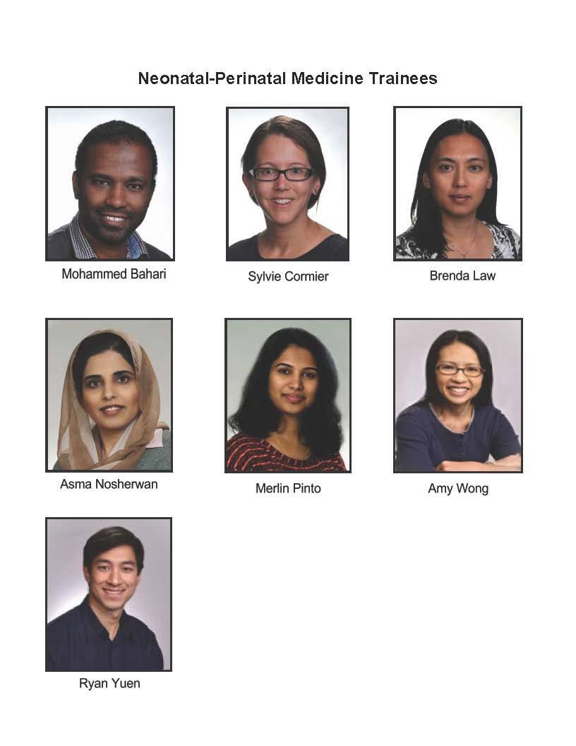 Neonatal-Perinatal Medicine Trainees