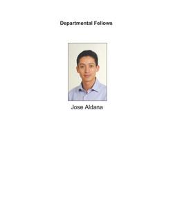 Departmental Fellows