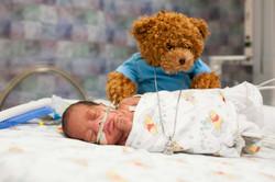 premature baby on nasal cannula