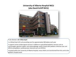 University of Alberta Hospital NICU