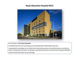 Royal Alexandra Hospital NICU