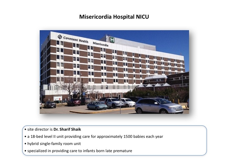 Misericordia Hospital NICU