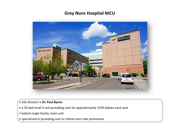 Grey Nuns Hospital NICU