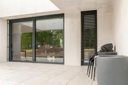 drzwi przesuwne okno aluminium pasywne do domu nowoczesne wzornictwo