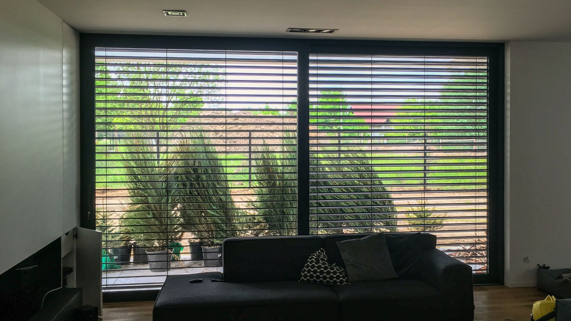 nowoczesne domy mieszkalne drzwi podnoszono przesuwne HS HST PSK katowice śląsk