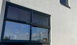 wyjście na taras balkon aluminiowe drzwi przesuwne producent oknowent