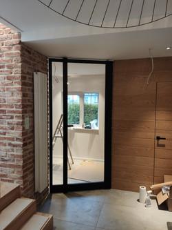 drzwi pivotowe loftowe