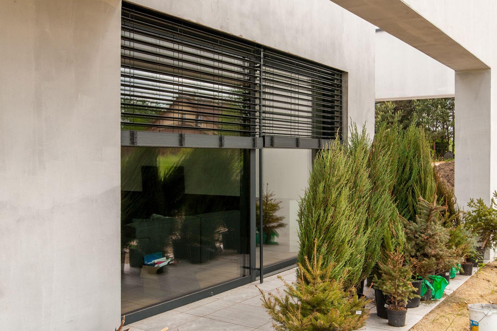 aluminiowe drzwi balkonowe żaluzje oknowent.eu producent stolarki aluminiowej