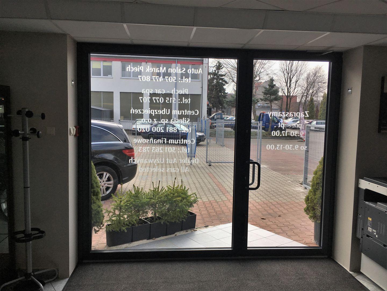 drzwi aluminiowe salon katowice