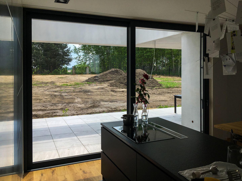 aluminiowe drzwi na taras producent okien drzwi fasad aluminiowych
