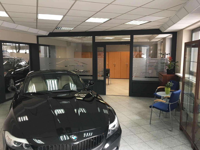 drzwi okna aluminiowe salon Katowice