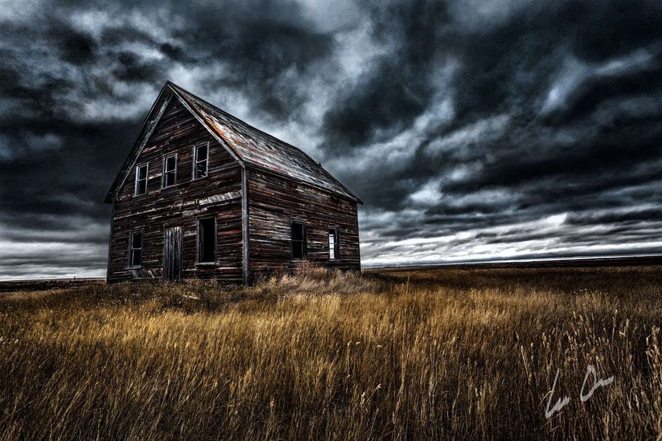 Abandoned Farmhouse - Saskatchewan