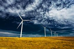 Windmills - Colfax, Washington, USA