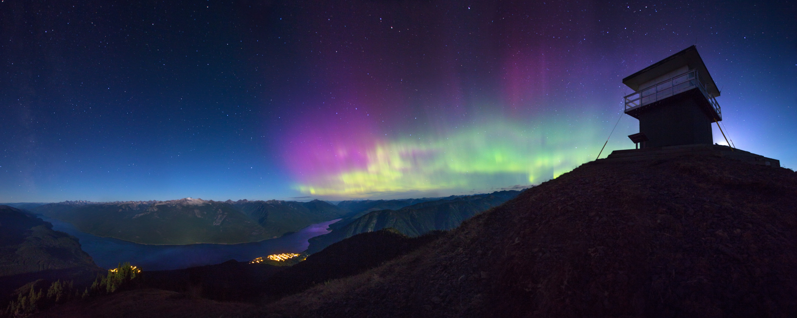 Northern Lights - Idaho Peak, BC