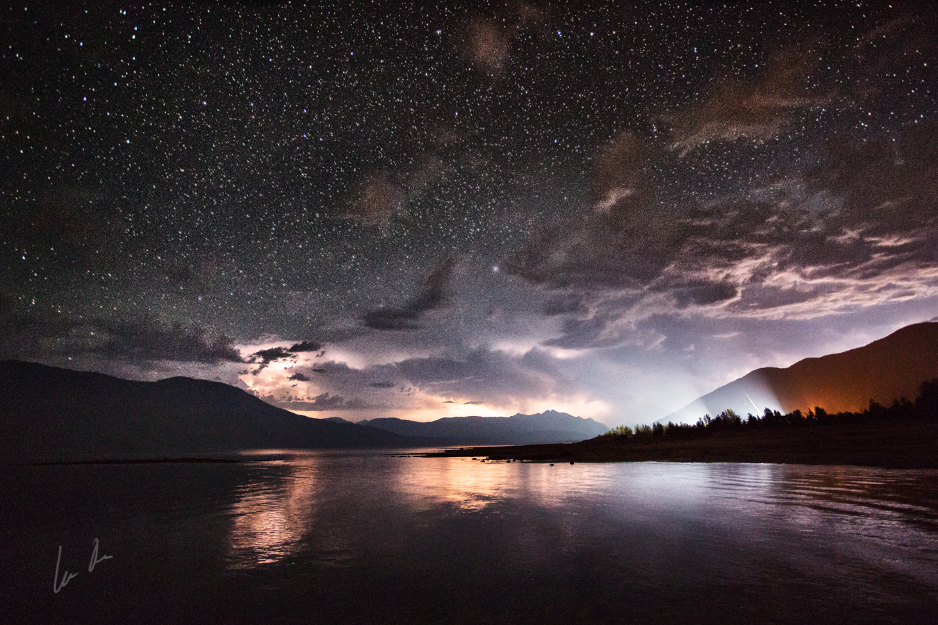 Night Lights - Nakusp, BC