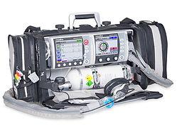 Respirator transportowy w połaczeniu z dedfibrylatorem Meducore