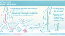 Slip & Fall Prevention - Tips for Walking on Ice