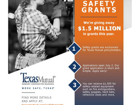 TEXAS MUTUAL SAFETY GRANTS