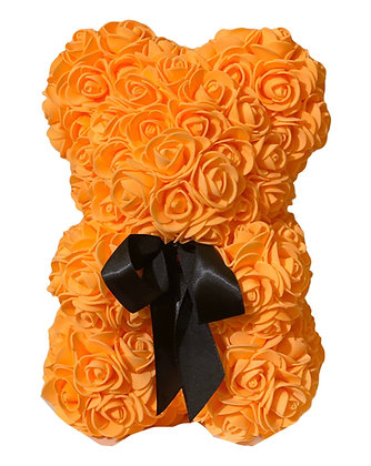 Small Flower Bear - Orange