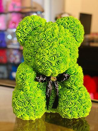Flower Foam Bear - Green