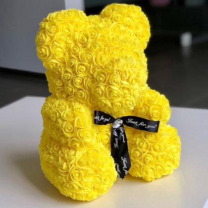 Flower Foam Bear - Yellow